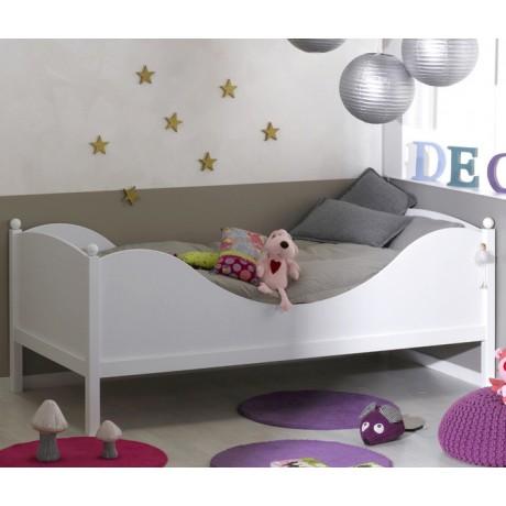 lit enfant blanc