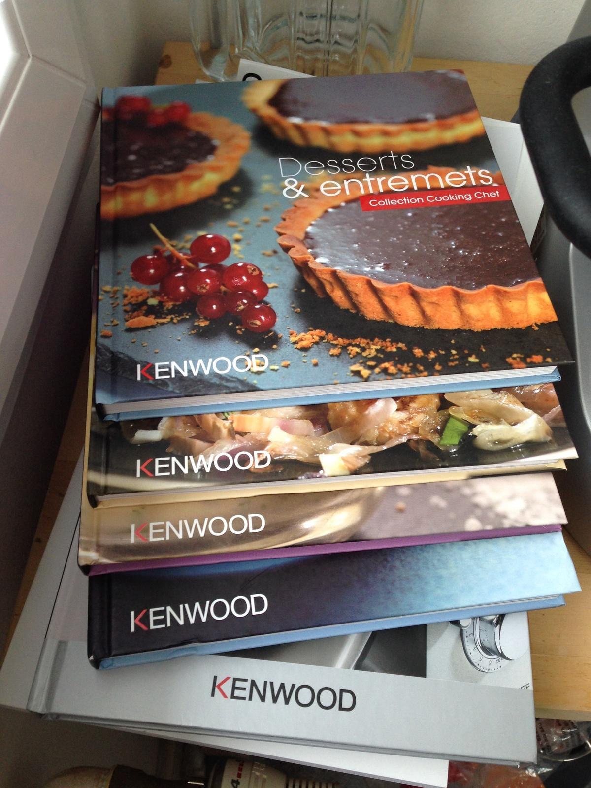 livre de recette kenwood cooking chef