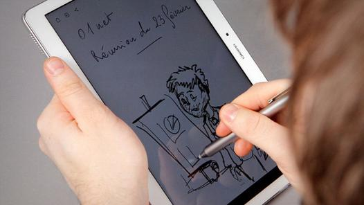 logiciel de dessin avec stylet