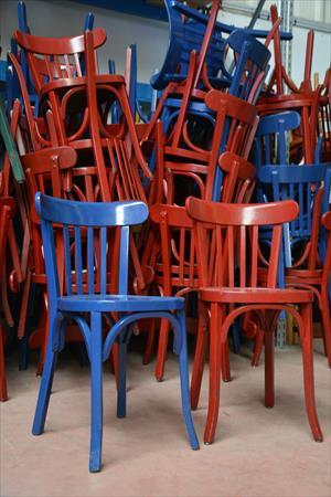 lot de 100 chaises occasion