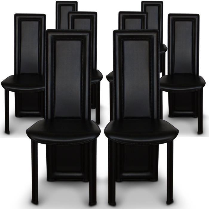 lot de 8 chaises pas cher