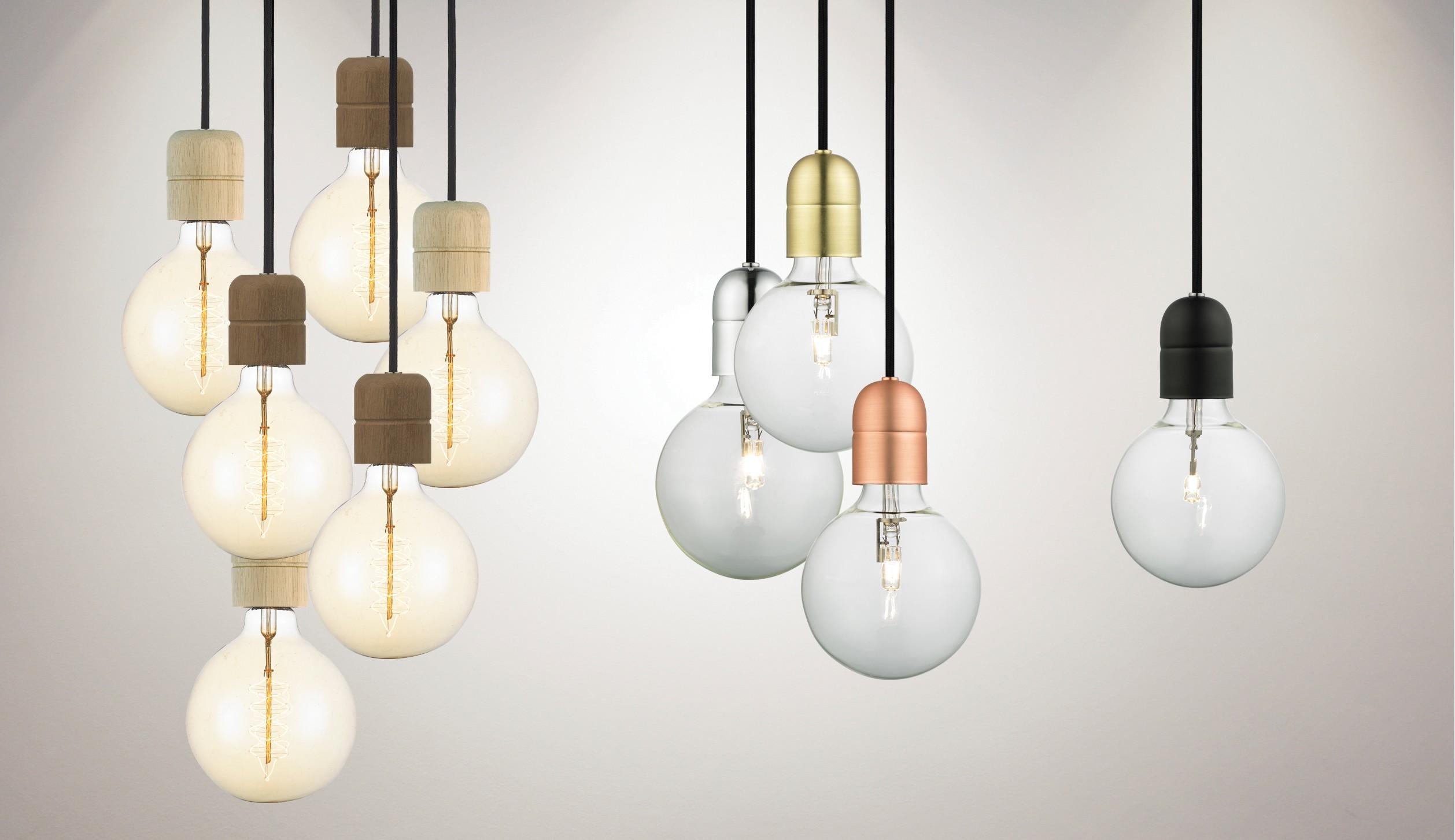 luminaire ampoule suspendu