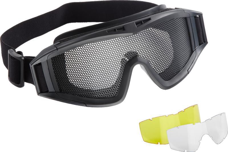 lunette de protection airsoft grillage