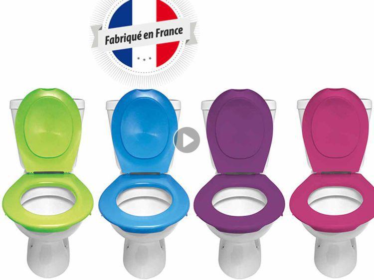 lunette de toilette sans vis