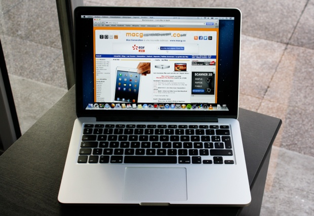 macbook pro retina 13 test