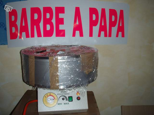 machine barbe a papa occasion