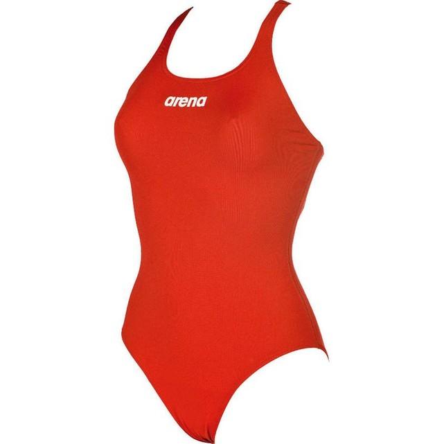 maillot de bain arena rouge femme
