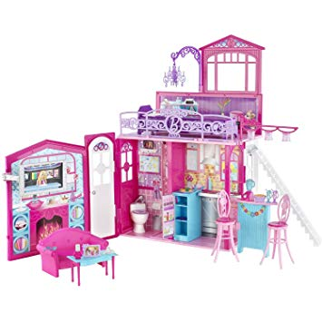 maison de barbie pliable