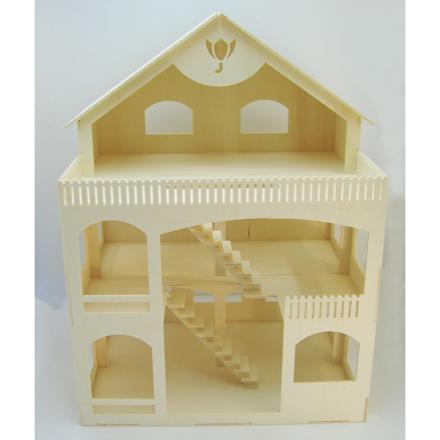 maison de poupéé en bois en kit