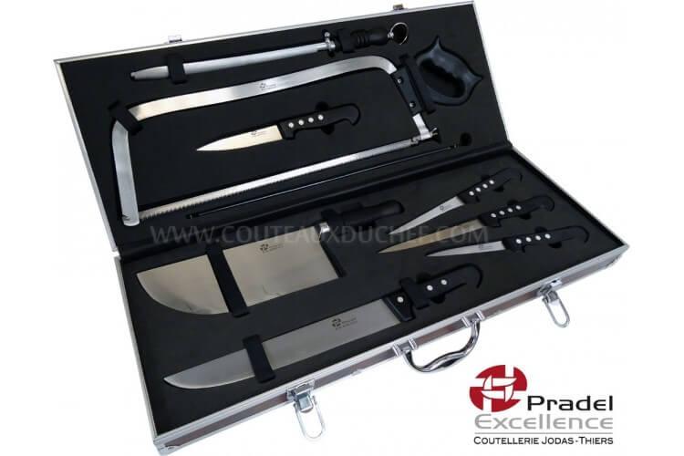 malette couteau boucher pradel