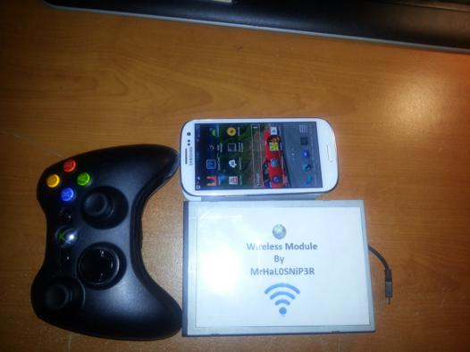 manette xbox 360 android