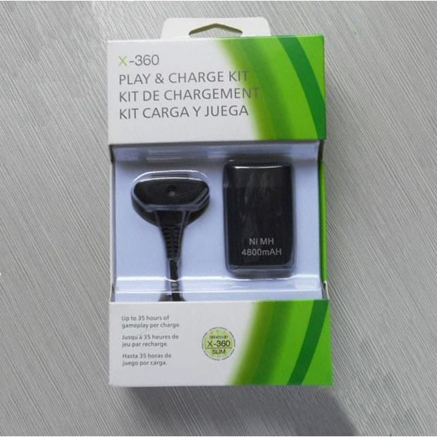 manette xbox 360 batterie