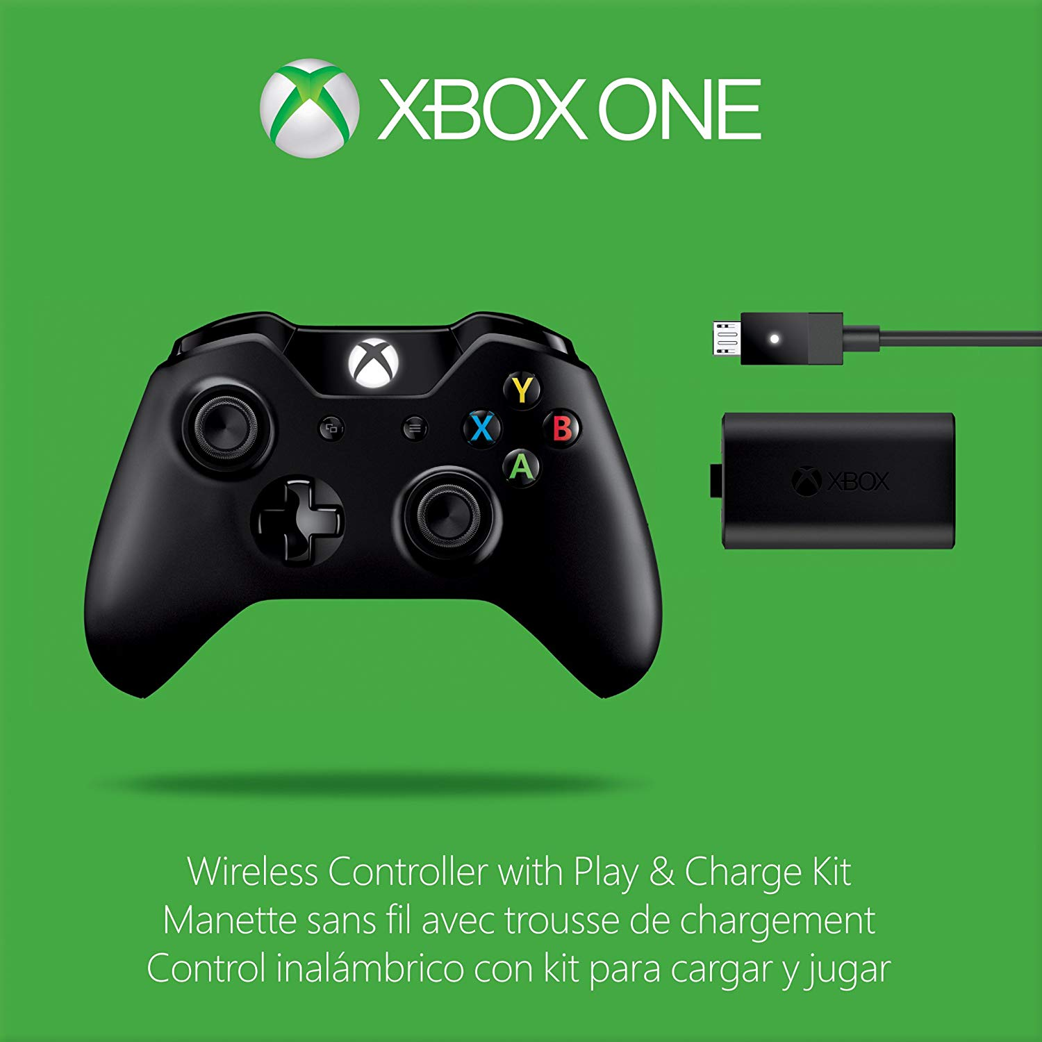 manette xbox one kit play charge