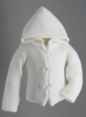 manteau blanc bebe