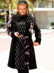 manteau femme grande taille original