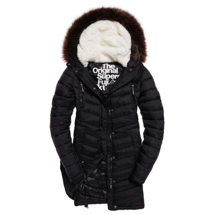 manteau superdry femme