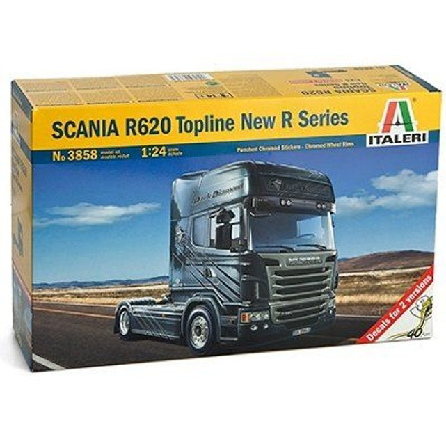 maquette camion scania