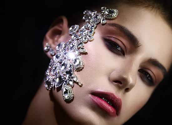 maquillage strass