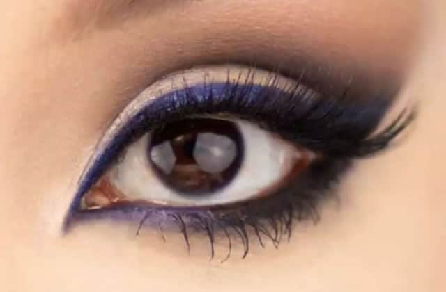 maquillage yeux original
