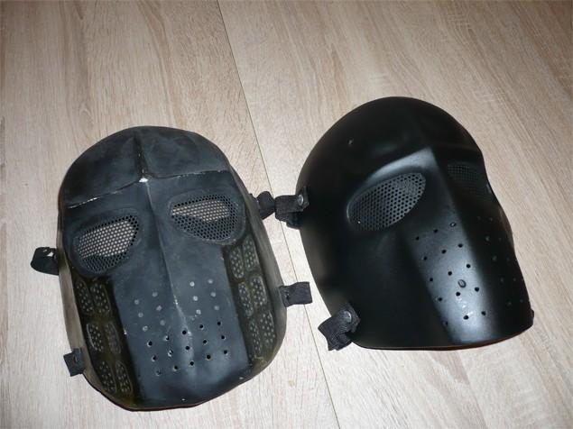 masque airsoft personnalisé
