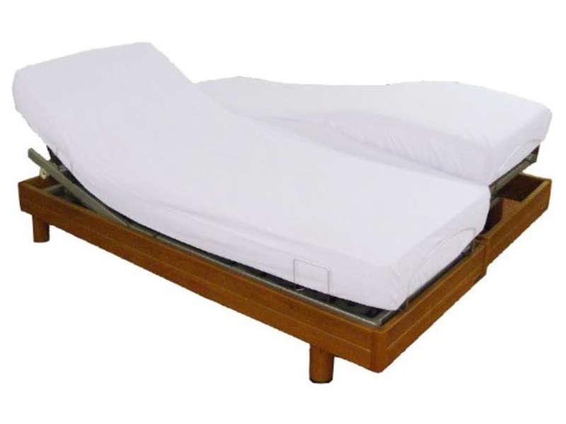 matelas pour lit électrique 2x80x200