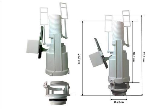 mecanisme chasse d eau wc suspendu siamp