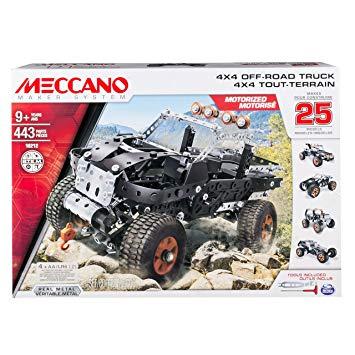 meccano 25 modeles