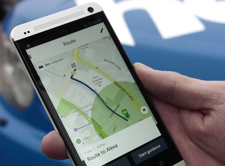 meilleur gps android