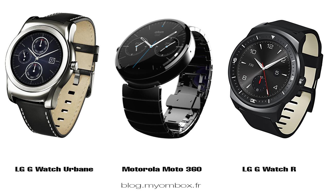 meilleur montre connectée android