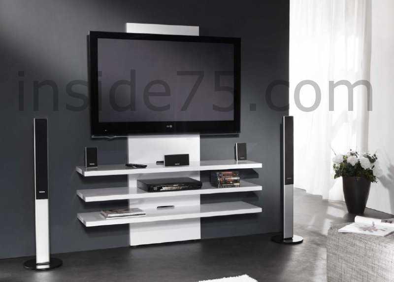 meuble design tv mural