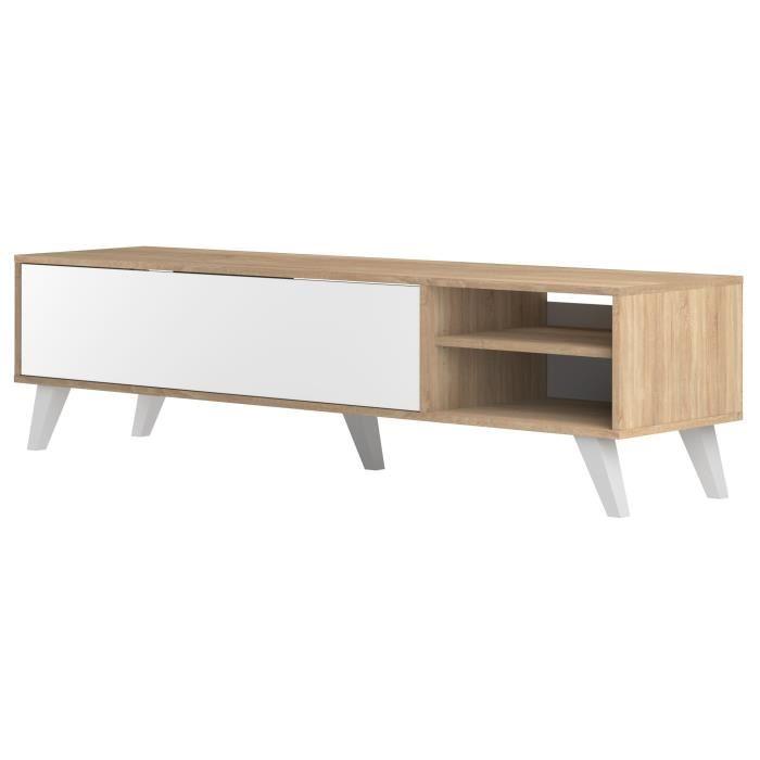 meuble scandinave tv