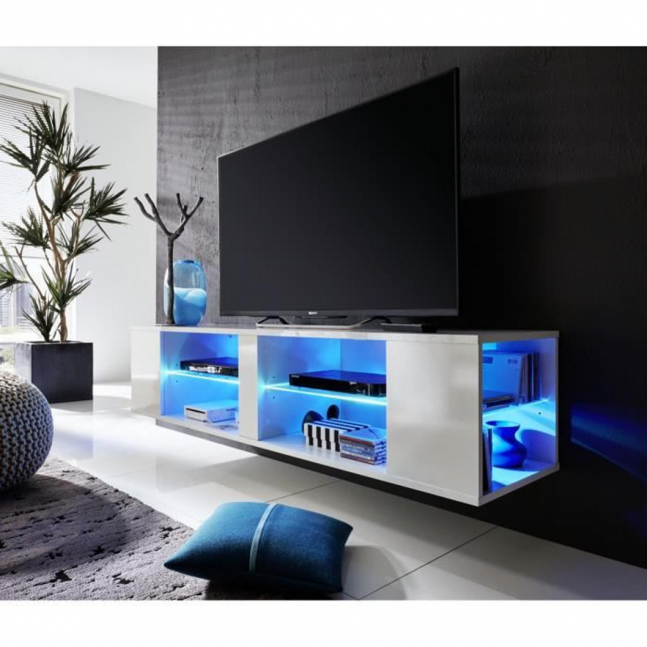 meuble tv a led pas cher