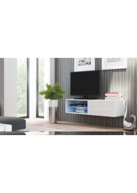 meuble tv suspendu 120 cm
