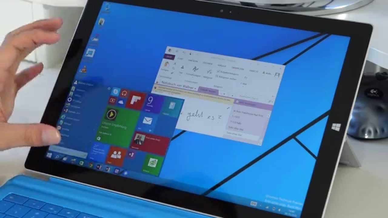 microsoft surface pro windows 10