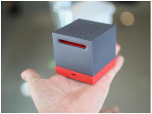 mini caisson de basse portable