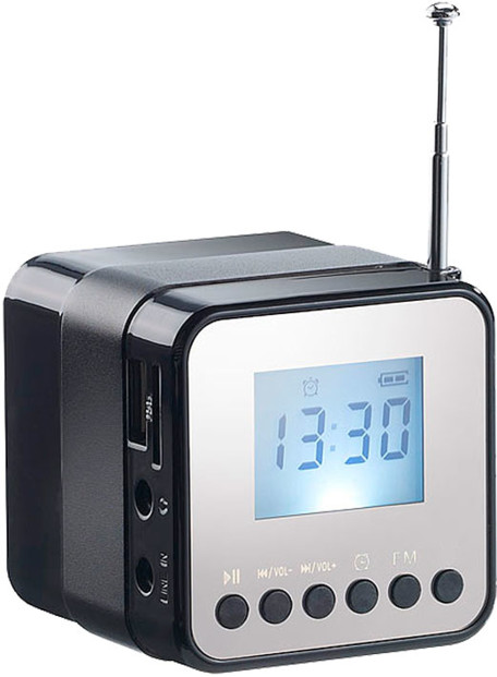 mini radio reveil