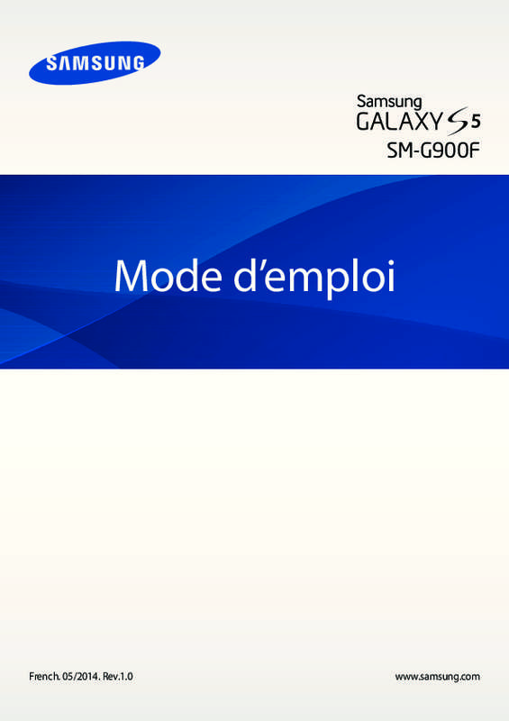 mode emploi samsung galaxy s5