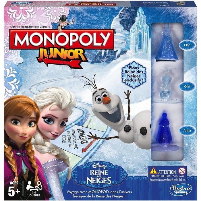 monopoly junior reine des neiges