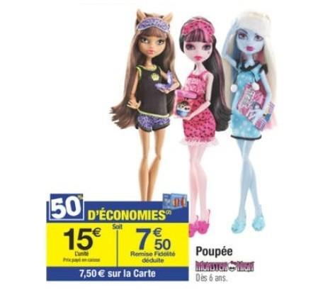 monster high pas cher