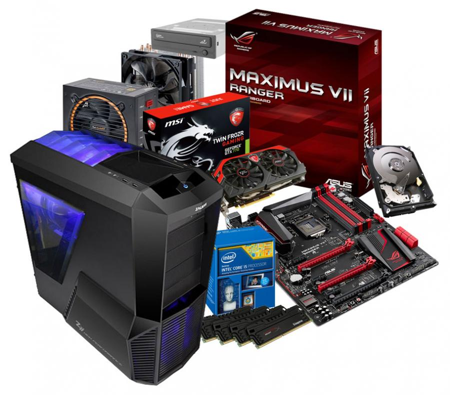 montage pc gaming