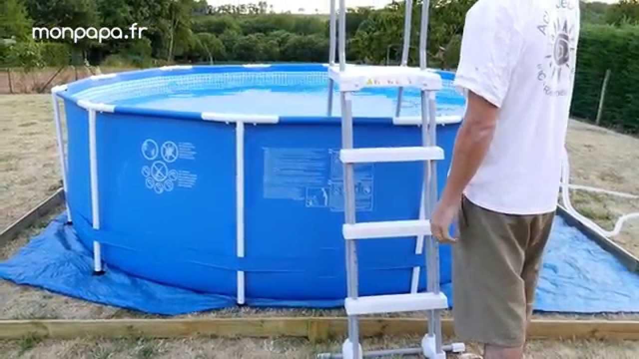 montage piscine hors sol tubulaire