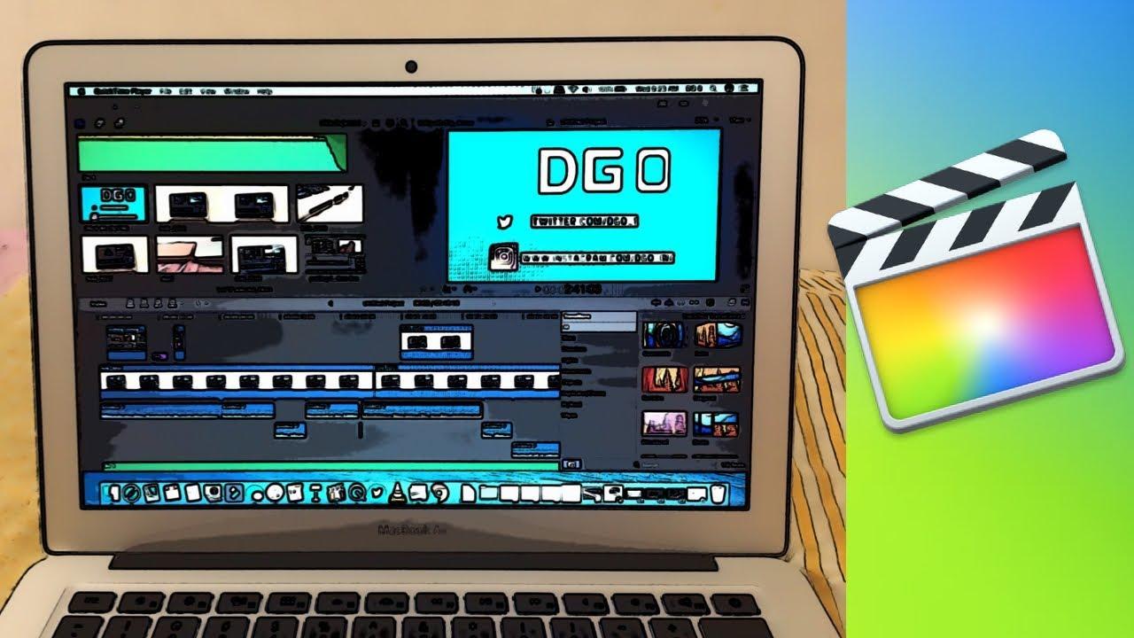 montage video macbook air
