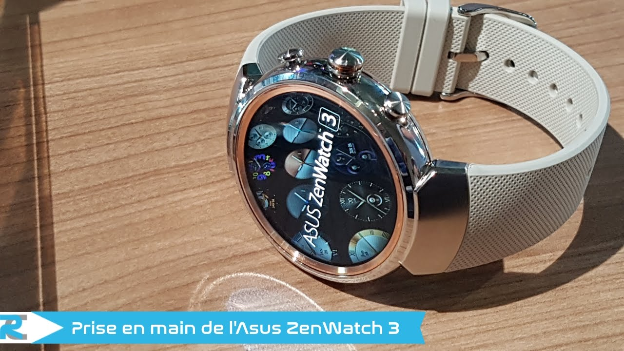 montre asus zenwatch 3