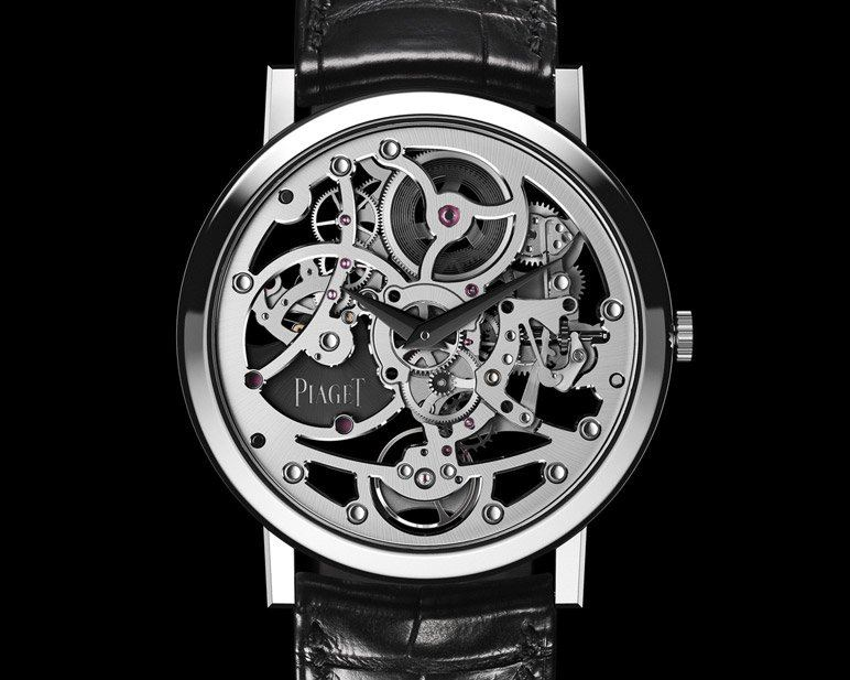 montre automatique squelette