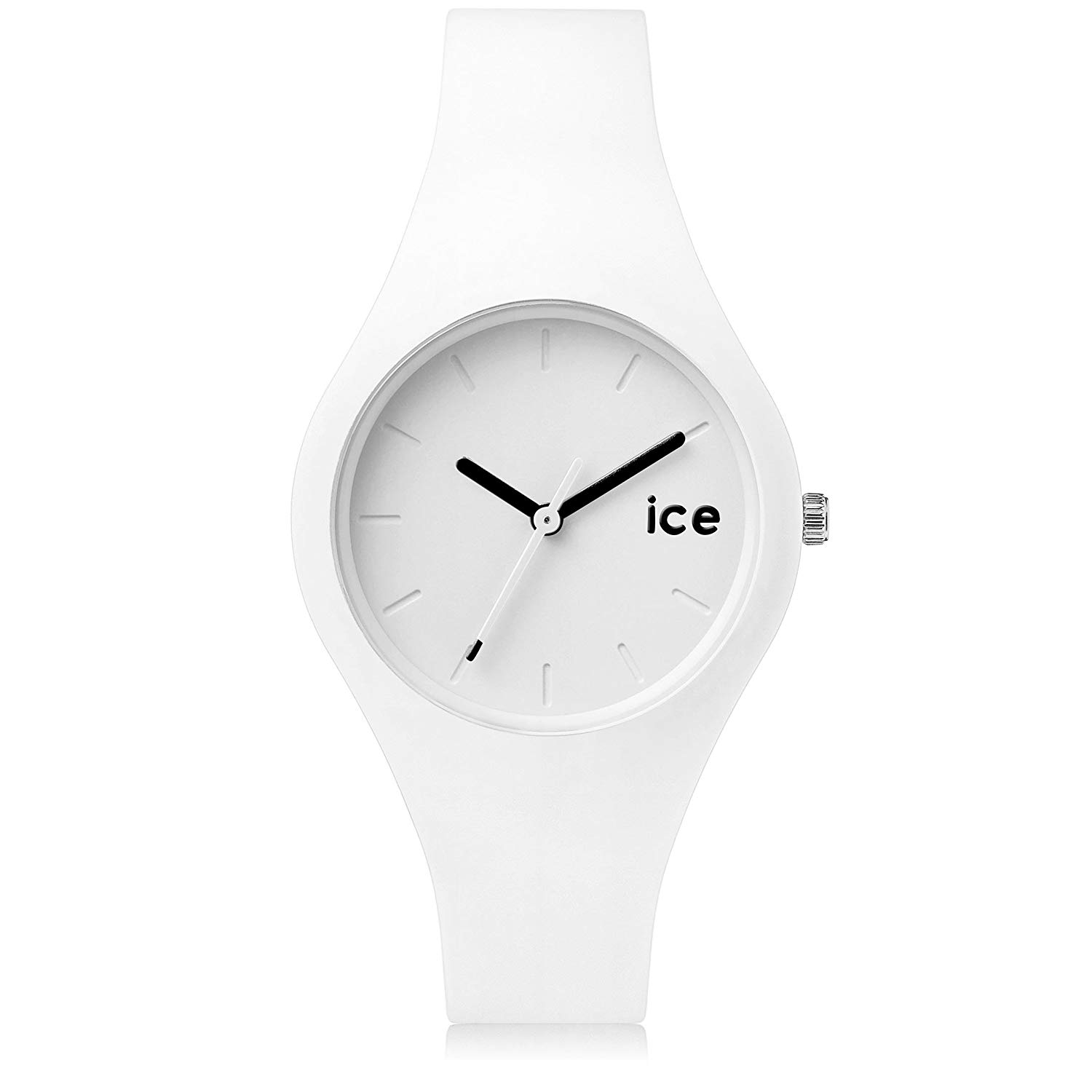 montre blanche ice watch