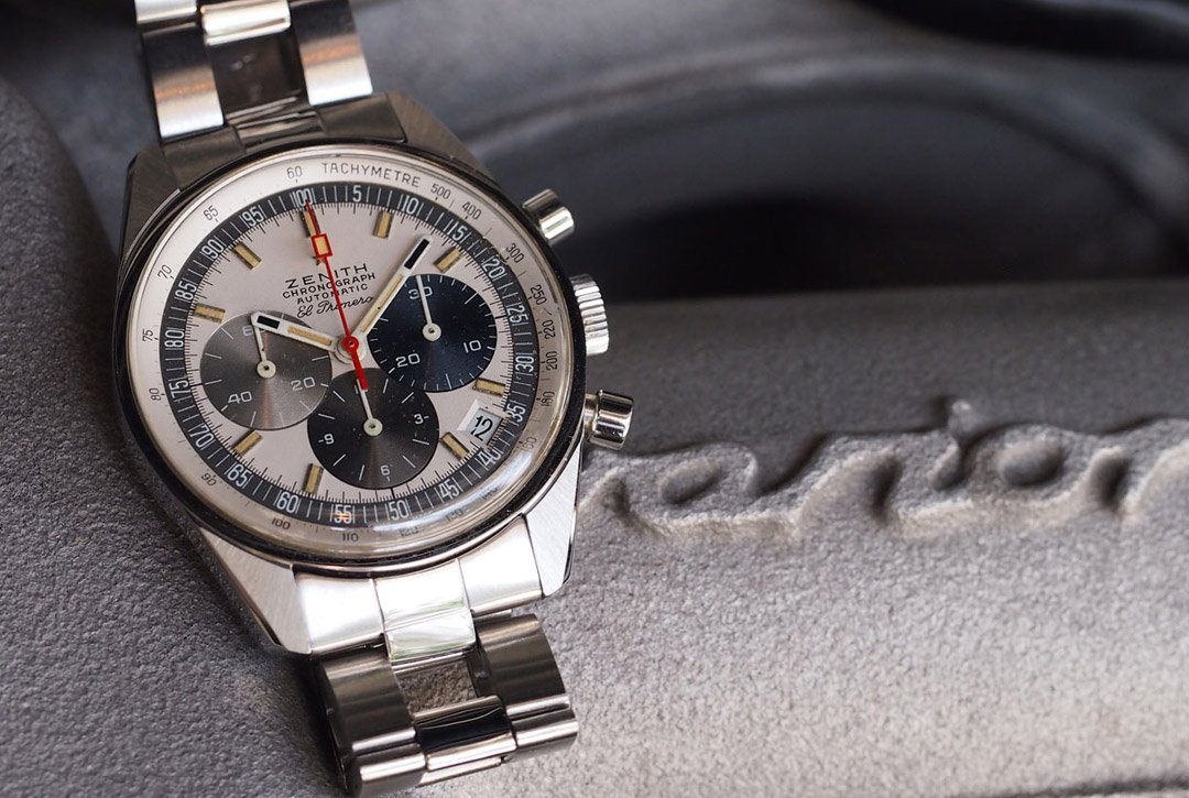 montre chronographe automatique