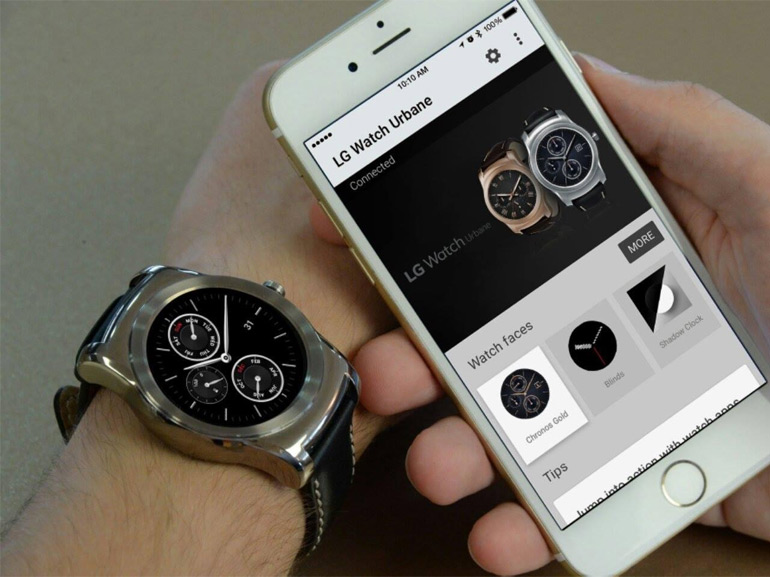 montre compatible iphone