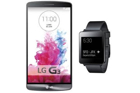 montre connectée lg g3