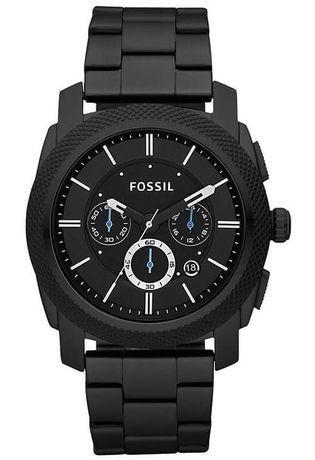 montre fossil homme noire