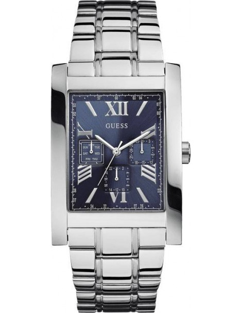 montre guess rectangulaire